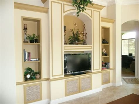 Houzz Living Room Tv Units Tv Wall Units