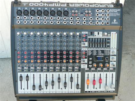 Power Mixer Behringer Pmp4000 behringer europower pmp4000 image 428823 audiofanzine