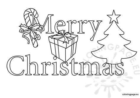 clipart christmas coloring page merry christmas clipart black and white coloring page