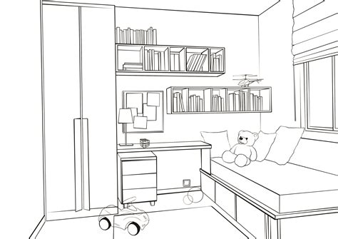 bedroom drawing drawings of a bedroom