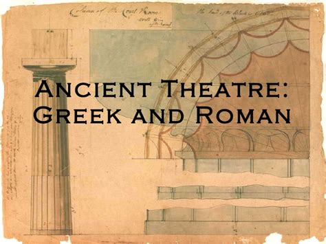 powerpoint design greece ancient theatre greek and roman