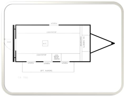 The Auction Floor by Cashier Trailer Floor Plans Built With Storage Rooms And