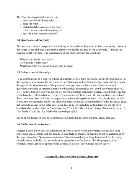 detailed outline template detailed outline of research