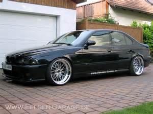 e39 540i black polished wheels bmw e39
