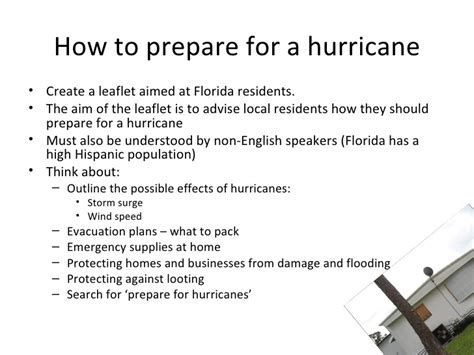 How To Prepare For An How To Prepare For A Hurricane