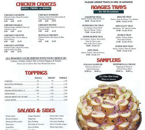 menu pal joey s deli