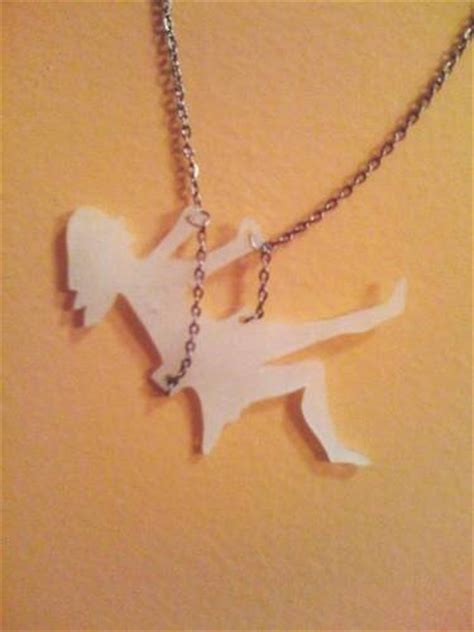Swing Necklace by Shrinky Dink Swinging Jewelry And Trinkets