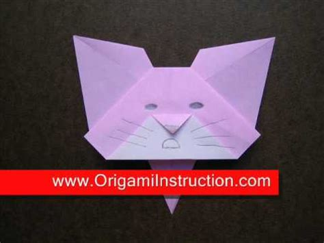 Origami Cat Bookmark - origami origami cat bookmark