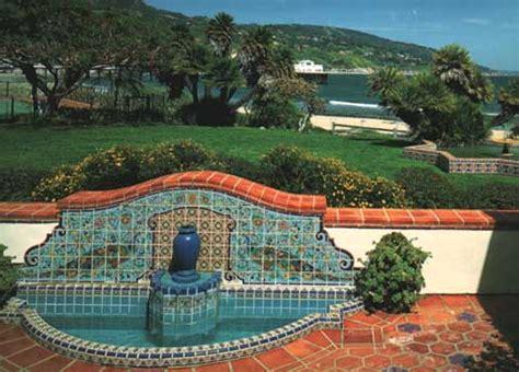 adamson house mailbu tile and adamson house grounds