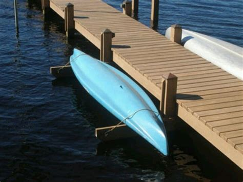 boat dock kayak rack kayak or canoe rack build this beside the dock cottage