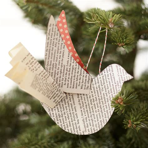 How To Make A Paper Bird Easy - beautiful and easy ornaments for your