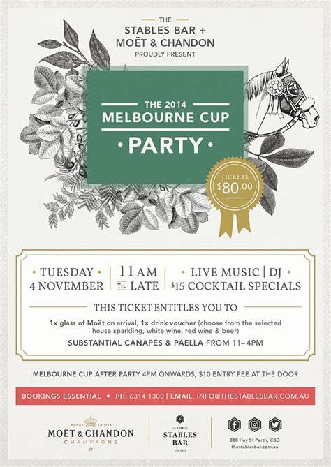 menu design melbourne melbourne cup party google search melbourne cup in the