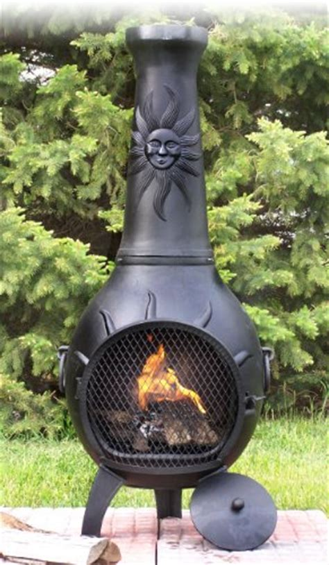 Best Price Cast Iron Chiminea The Blue Rooster Cast Iron Sun Stack Chiminea Best Prices