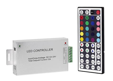 Led Rgb Remot rgb led controller with wireless ir remote dynamic color changing modes 3 s channel led
