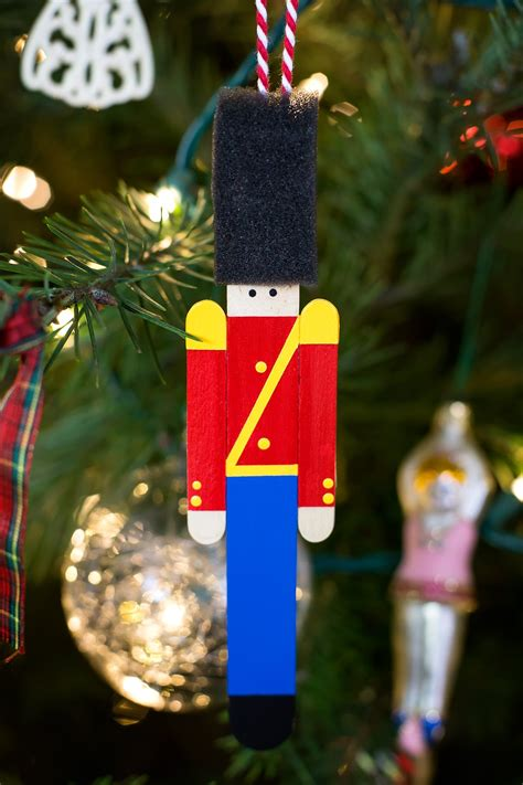 toy soldier craft for kids wooden soldier ornament