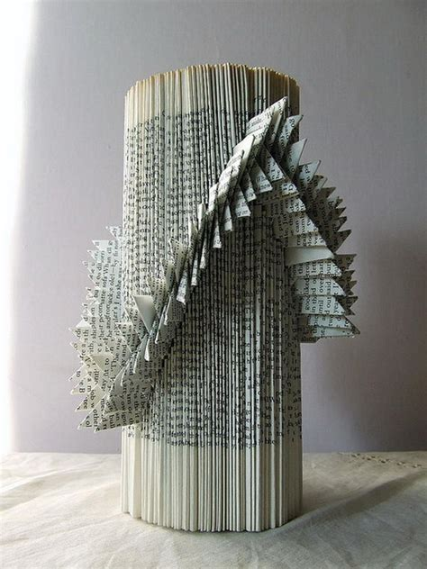 cool book sculptures  inspiration hative
