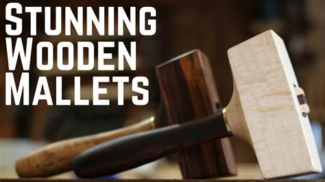 building beautiful wooden mallets   woodworking