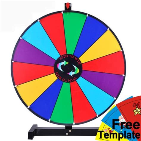 spin the wheel template prize wheel template