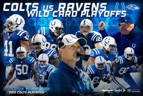 indianapolis colts fan forum 2012 playoff poster wild card member s album