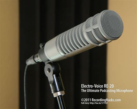 The Voice Microphone ultimate podcast microphone shootout recording hacks