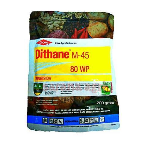 Fungisida 80 Wp fungisida dithane m 45 80wp 200 gram bibitbunga