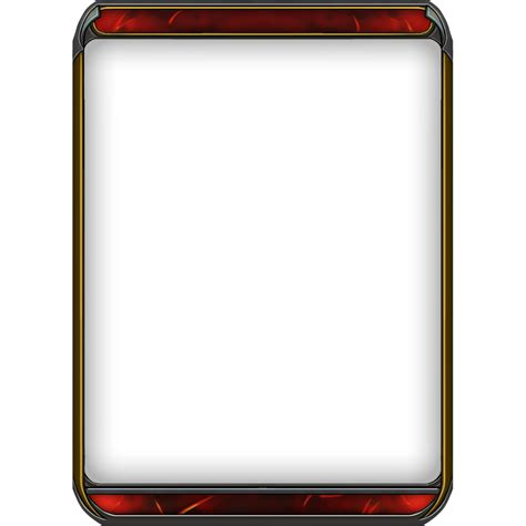 magic card template png best photos of template magic card card