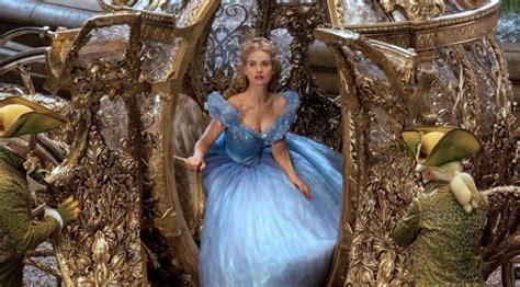 film cinderella yg baru mengenal lily james si cinderella di film baru disney