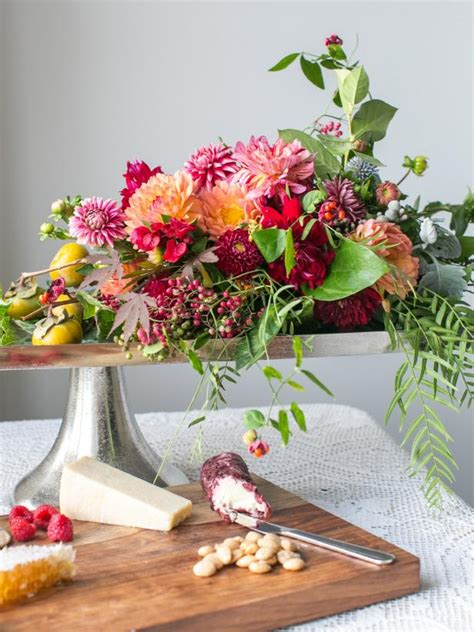 Rectangular Sumer Fresh 37 easy fall flower arrangement ideas hgtv