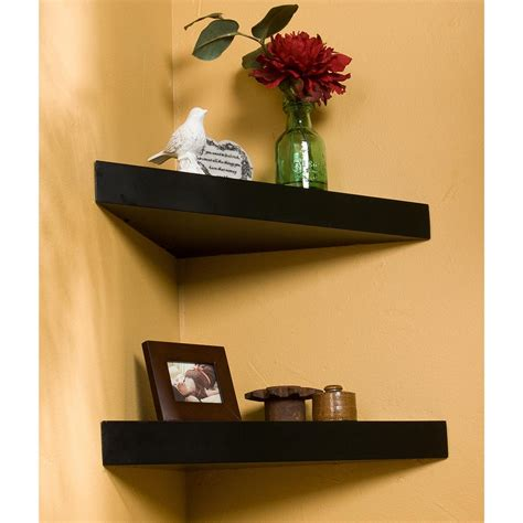 sei 174 14 quot chicago corner floating shelf 223749