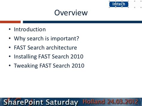 Fast Search Installing And Tweaking Fastsearch