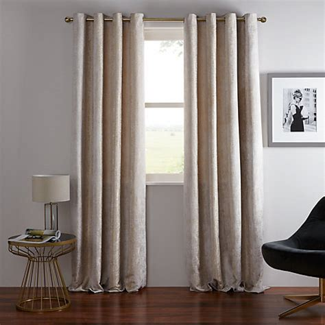 how to make lined curtains john lewis buy john lewis compton textured lined eyelet curtains