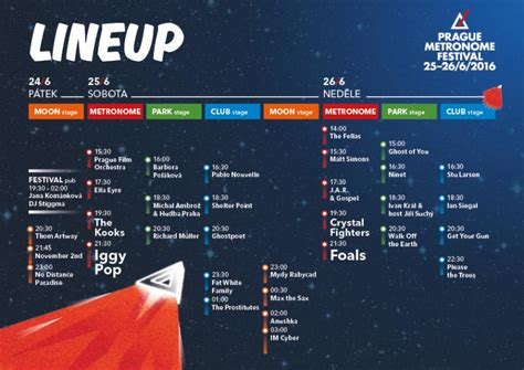 Metronome Festival Program Napl 225 Nujte Si Program Na Metronome Festival Již Dnes Cs