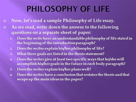 My Essay On Free Will Philosophy Forums Essay On Philosophy In