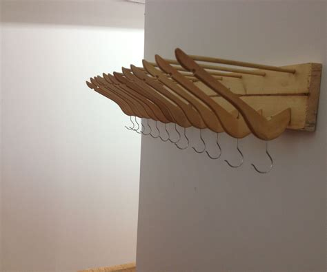 Make Hanger - recycled coat hanger coat rack