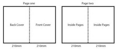Half Page Brochure Template by Folding Information Folded Brochures Printing Services