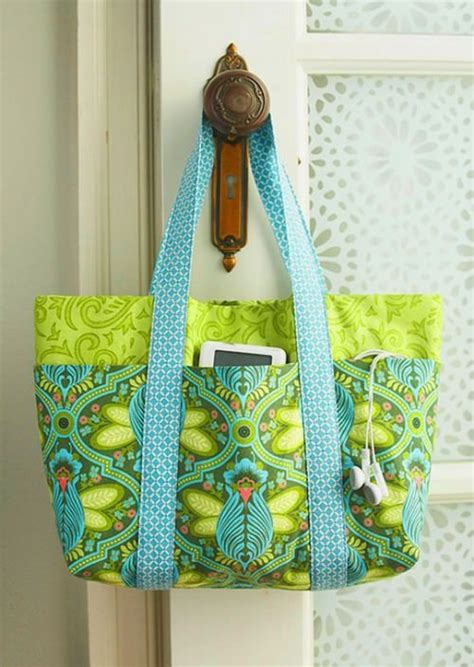 easy tote bag sewing pattern free 27 trendy free handbag patterns to sew tip junkie