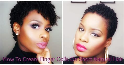 Hairstyle Book For Beginners by Hair For Beginners How To Create Finger Coils On