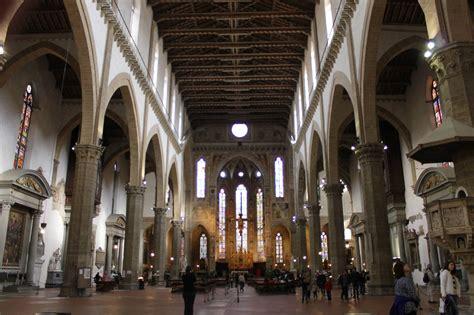 santa croce firenze interno la basilica di santa croce toc toc firenze