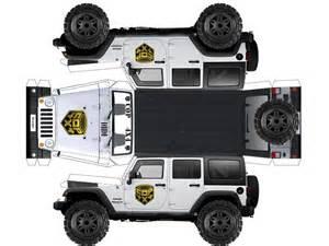 Papercraft Vehicles - papercraft jeep plus p