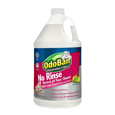 odoban 128 oz no rinse neutral ph floor cleaner 9361b61 g