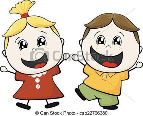 imagenes niños en caricaturas vector de poco amigos ni 241 os caricatura ilustraci 243 n