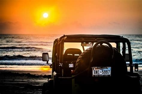 Jeep Beach Sunset Jeep Pinterest Jeeps Beach And