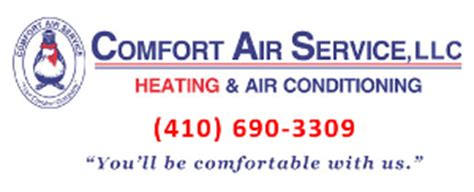 comfort air engineering hvac technician easton md 21601