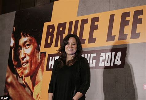 bruce lee daughter biography new bruce lee biopic in the works daily mail online