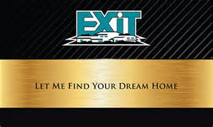 exit realty business cards exit realty business cards templates printifycards