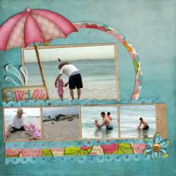 Free Digital Scrapbook Pages Templates by How To Use A Digital Scrapbook Template S