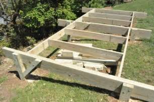 House Plans On Piers And Beams how to build a post amp beam shed foundation on a slope