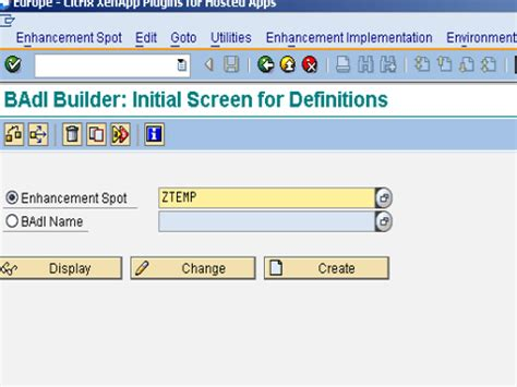 badi tutorial sap technical what is badi sap abap tutorial