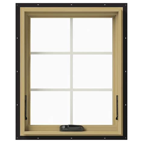 jeld wen awning windows jeld wen 24 in x 30 in w 2500 awning aluminum clad wood