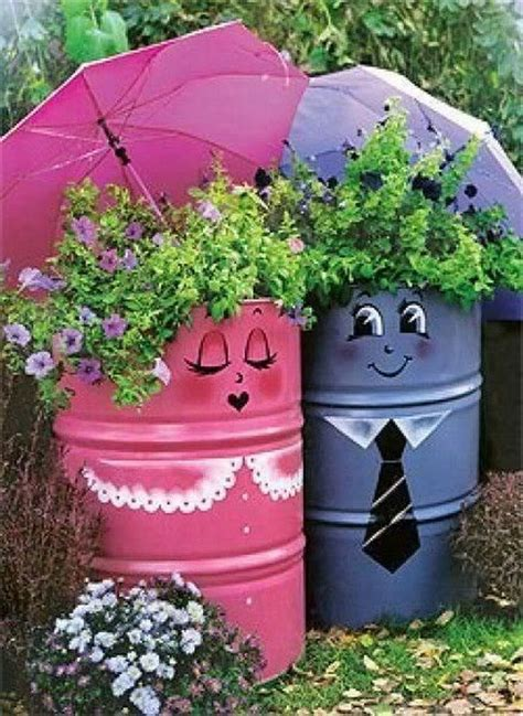 Decorative Watering Cans by 20 Fun And Creative Container Gardening Ideas Hative